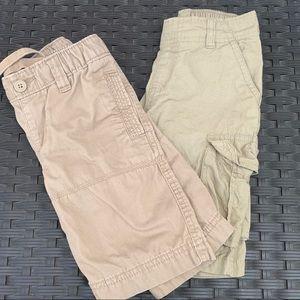 Set of two boys cargo shorts
